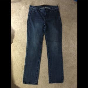 Talbots straight leg 5 pocket Jeans